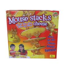 Juego De Mesa Mouse Stacks Cheese