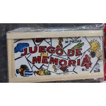 Juego De Memoria De Madera 28 Piezas