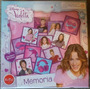 Violetta Disney Memory Card Game 48 Cartas