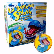 La Ballena Splash Juego De Mesa Lanza Agua Tv La Ballenita