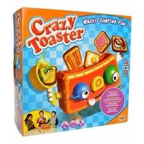 Juego De Mesa Crazy Toaster Arma Tu Propio Desayuno