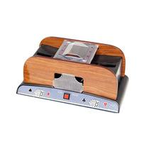 Mezclador De Cartas Naipes Poker Automático Madera Deluxe