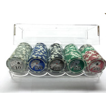 Set Fichas Póker Profesional Numeradas