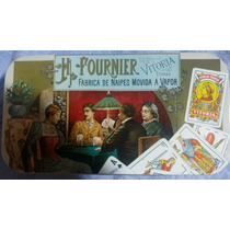 Poker Fournier Vintage De Metal