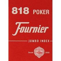 Naipes Fournier 818 - Número Grande - Mejor Precio - Poker