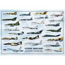 Rompecabezas Art Stones De 1000 Piezas: Aviones Modernos