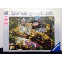 Puzzle Ravensburger 1000 Piezas Grupo De Leopardos