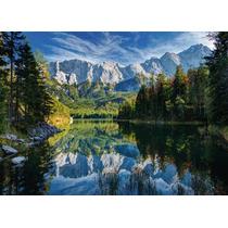 Rompecabezas Ravensburger De 1000 Piezas: Lago De Eibsee