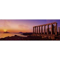 Rompecabezas Heye 2000 Piezas Panoramico: Templo De Poseidon