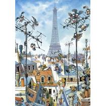 Rompecabezas Heye De 1000 Piezas: Loup: Eiffel Tower