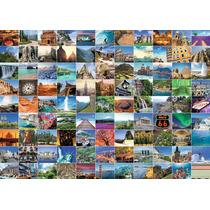 Rompecabezas Ravensburger 1000 Piezas: 99 Lugares Del Mundo