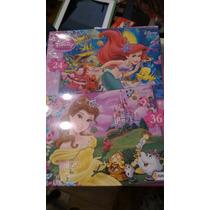 Puzzles Disney Doble. 24 Y 36 Piezas. Tapimovil
