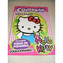 Libros Colorear Hello Kitty Violetta Barbie Souvenir Gabym
