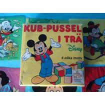 Rompecabezas Puzzle De Mickey Donald Bamby Blancanieves