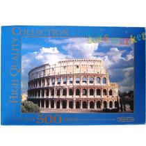Puzzle 500 Piezas 49x34 Cm Castillo O Coliseo Romano Toyco