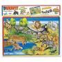 Rompecabezas Puzzle Zoo Cuadro X 24 Pzas Pzas. 033duravit