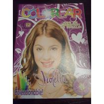 Libros Colorear Violetta Violeta Souvenir Gabym