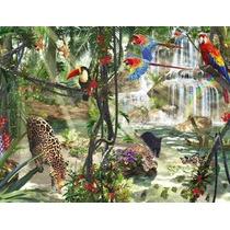 Rompecabezas Ravensburger De 2000 Piezas: Jungla Tropical