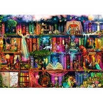 Rompecabezas Ravensburger De 1000 Piezas Biblioteca Fantasia