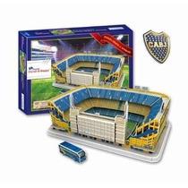 Rompecabeza/puzzle 3d Estadio De Boca/bombonera