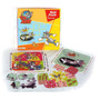 Tom Y Jerry Rompecabezas - 3 Tableros + 43 Pcs.- 3 En 1.