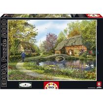 Puzzle Educa X 5000 Cabanas De Campo Zap 16356