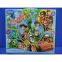 Puzzle Circular 101 Piezas Disney Con Todos Los Personajes