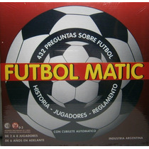 Futbol Matic Quien Sabe Mas 432 Preguntas Foul Gol Penal