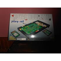 Ruleta Royal+mesa De Juego+ Tres Juegos- Juguetes Devoto