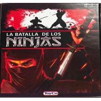 La Batalla De Los Ninjas Juego - Marca Toyco - 2 Jugadores