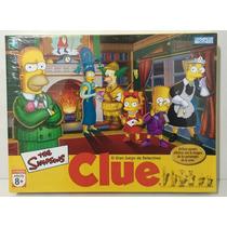 Juego Clue Simpsons Hasbro Zap 9771