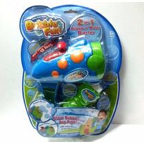 Burbujero 2 En 1 Pistola De Agua Bubble Fun A Pilas