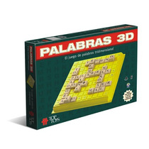 Juego De Mesa Palabras 3 D Original De Top Toys