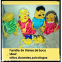Titeres De Boca Familia Completa