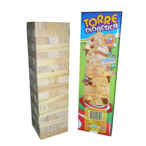 Torre Didactica Madera Tipo Jenga / Open-toys Avell 93