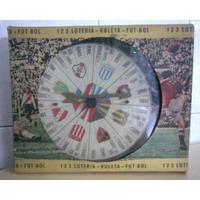 1 2 3 Lotería - Ruleta Fútbol - Antiguo Juego De Mesa 1970!!
