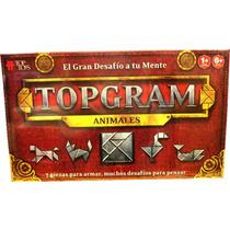 Topgram, Animales . Juego De Mesa -minijuegosnet