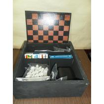 Caja De Madera Con 7 Juegos Producto Nuevo Con Detalles