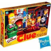 Clue Quién Es El Culpable? Simpsons Juego De Misterio Hasbro