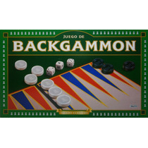 Backggammon Juego De Mesa Implas Original Jugueteria Bloque