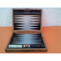 Backgammon Industria Argentina Nis Modelo Chico 70s