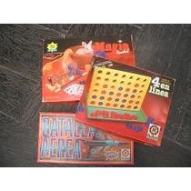 Tres (3) Juegos De Mente Y Mesa A P/ 7años