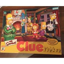 Los Simpsons Juego De Mesa Clue