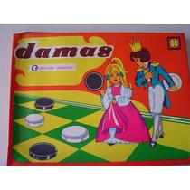 Juego De Damas En Caja Con Tablero Nuevo Oferta1980