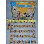 Domino Dominó Circo 28 Piezas De Madera Material Didactico