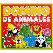 Domino De Animales (madera) - Linea Banquito Argentino