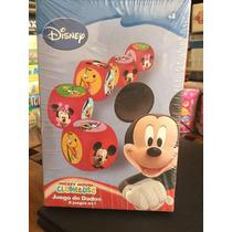 Juego De Dados 6 Juegos En 1- Disney Mickey Mouse