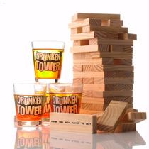 Yenga Drunken Juego Tragos Adultos Chupitos Drunker Tower