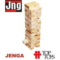 Jenga De Madera Torre Didactica 54 Piezas Jng Top Toys