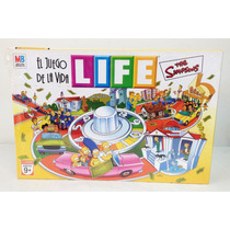 El Juego De La Vida Life Simpsons Original Licencia Hasbro